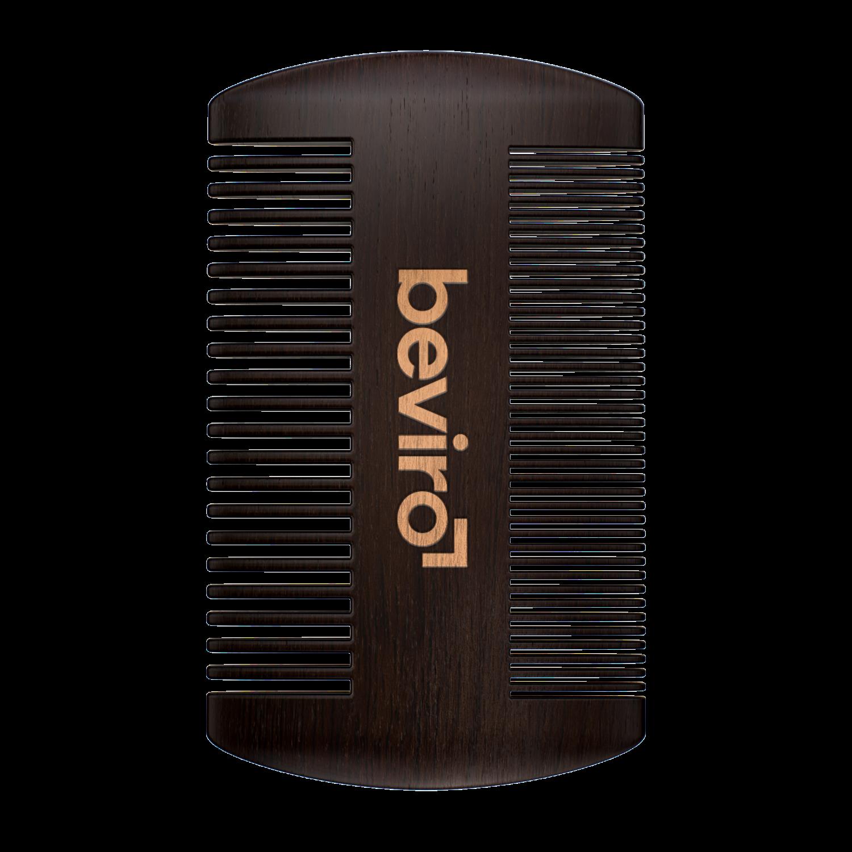 Beviro szakállfésű körtefából