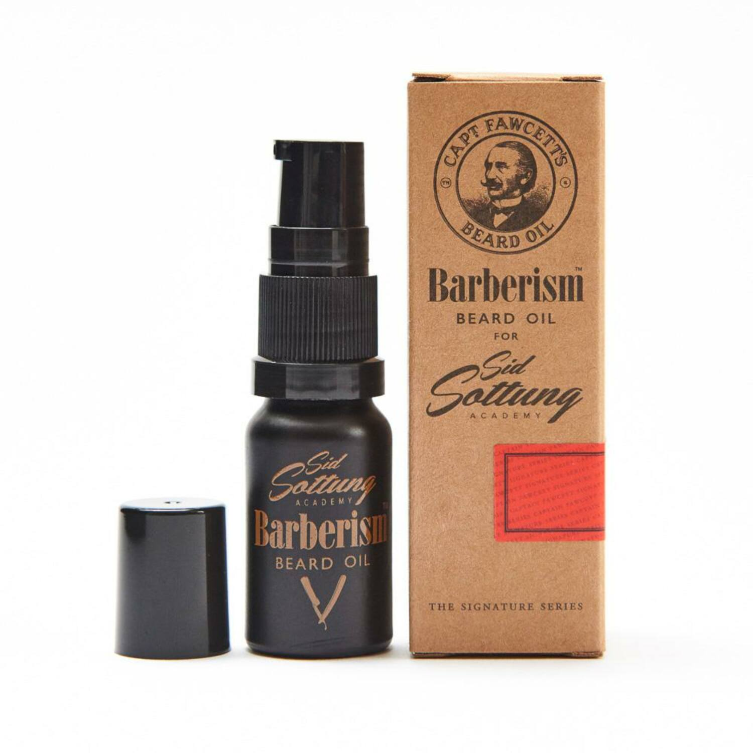 Captain Fawcett Barberism szakállolaj 10ml