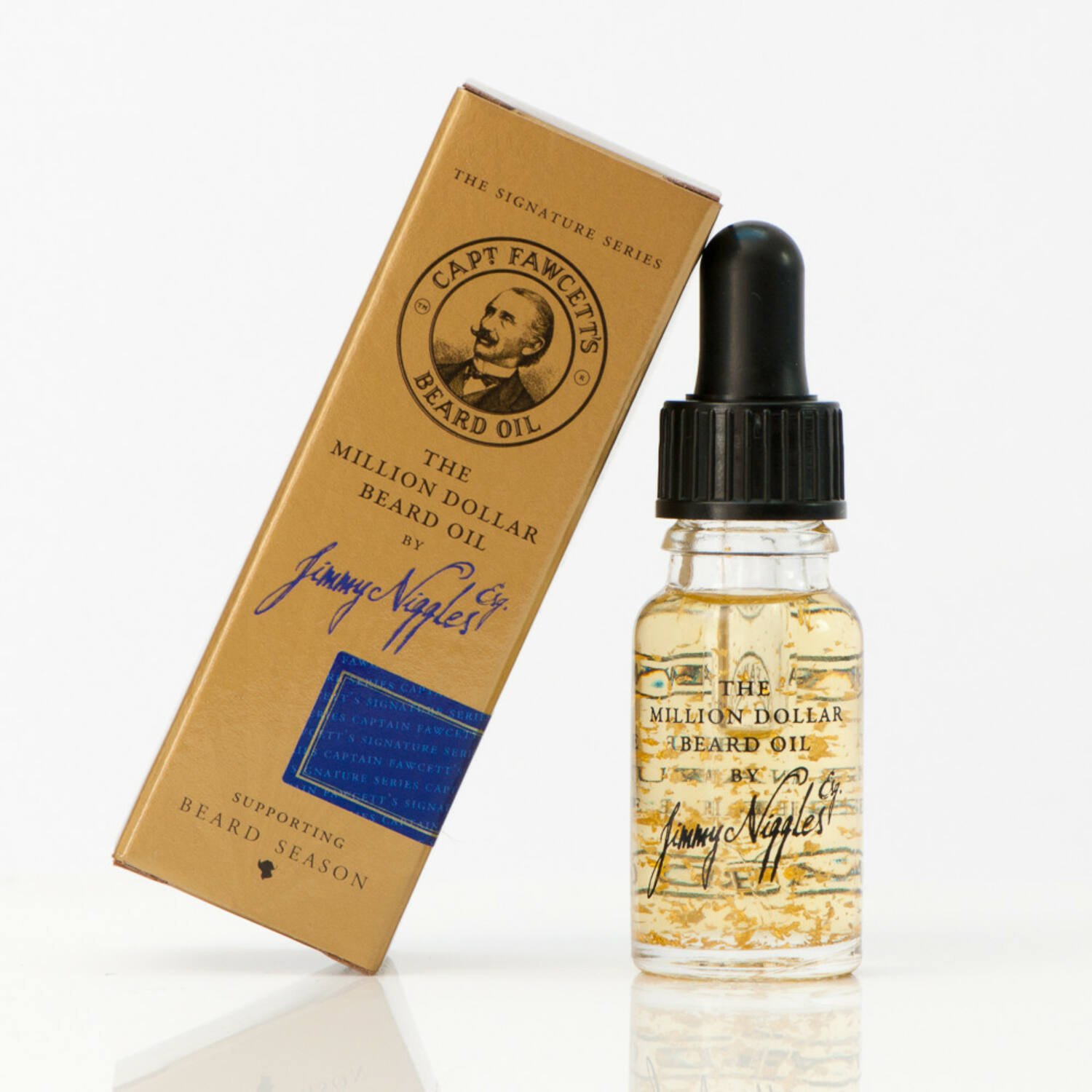 Captain Fawcett The million dollar beard oil 10ml