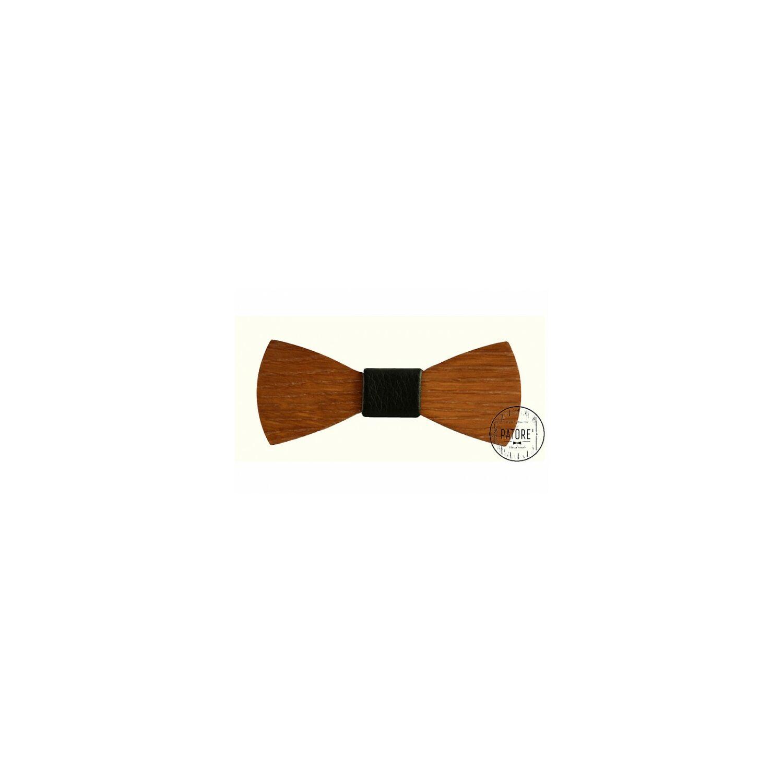 Patore fa csokornyakkendő cordial fekete bőr középpel