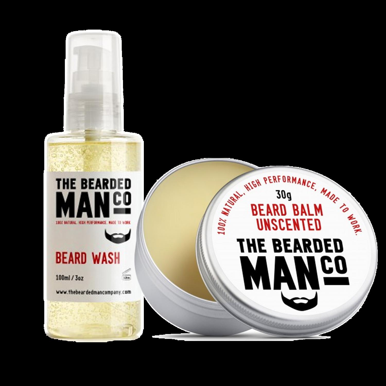szakállmosó+szakállbalzsam unscented
