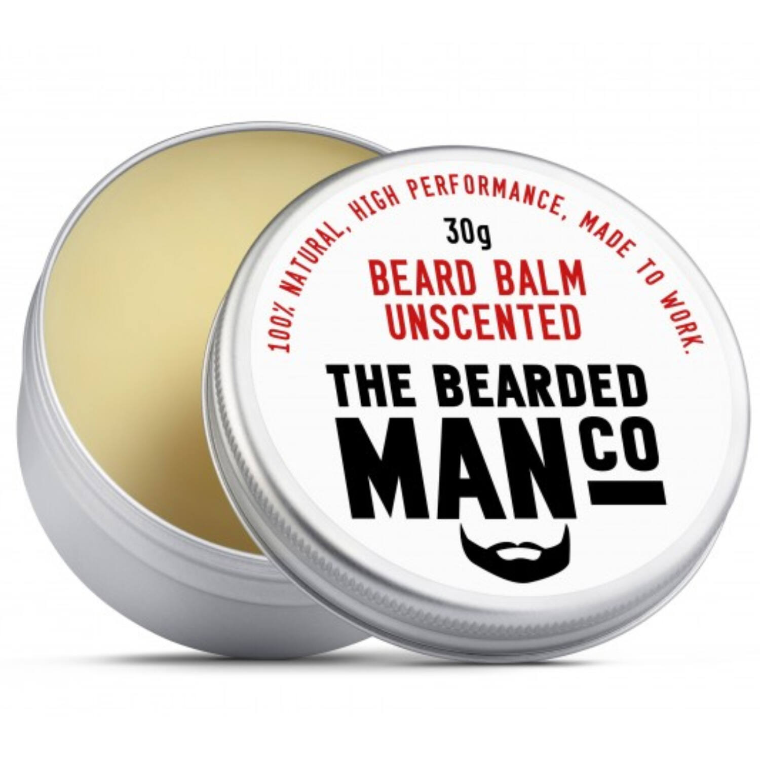 the bearded man company unscented szakállbalzsam