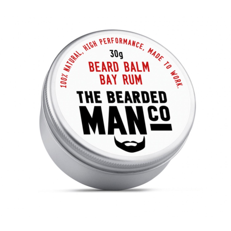 the bearded man company bay rum szakállbalzsam
