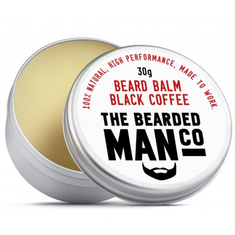 the bearded man company black coffee szakállbalzsam
