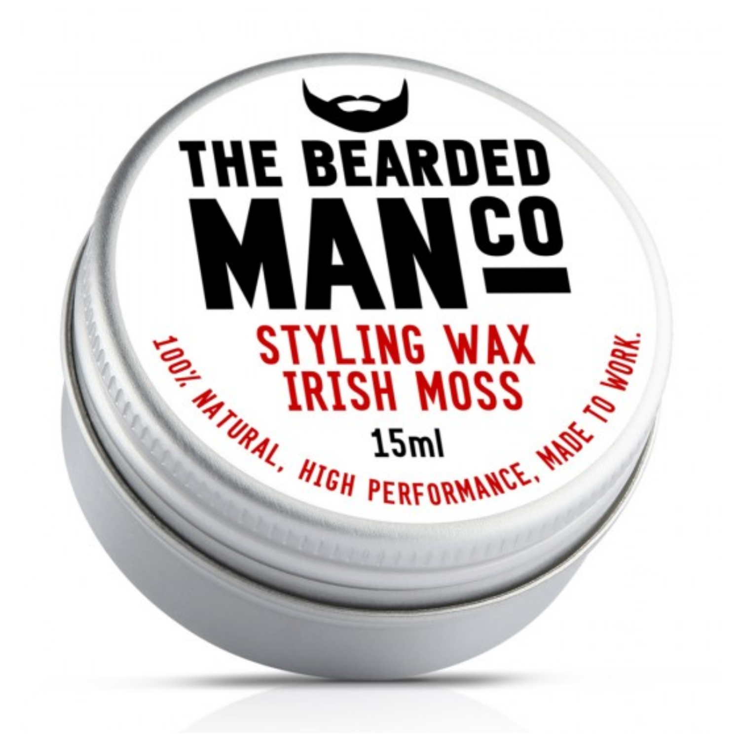 The Bearded Man Co. szakáll és bajuszwax - Irish Moss