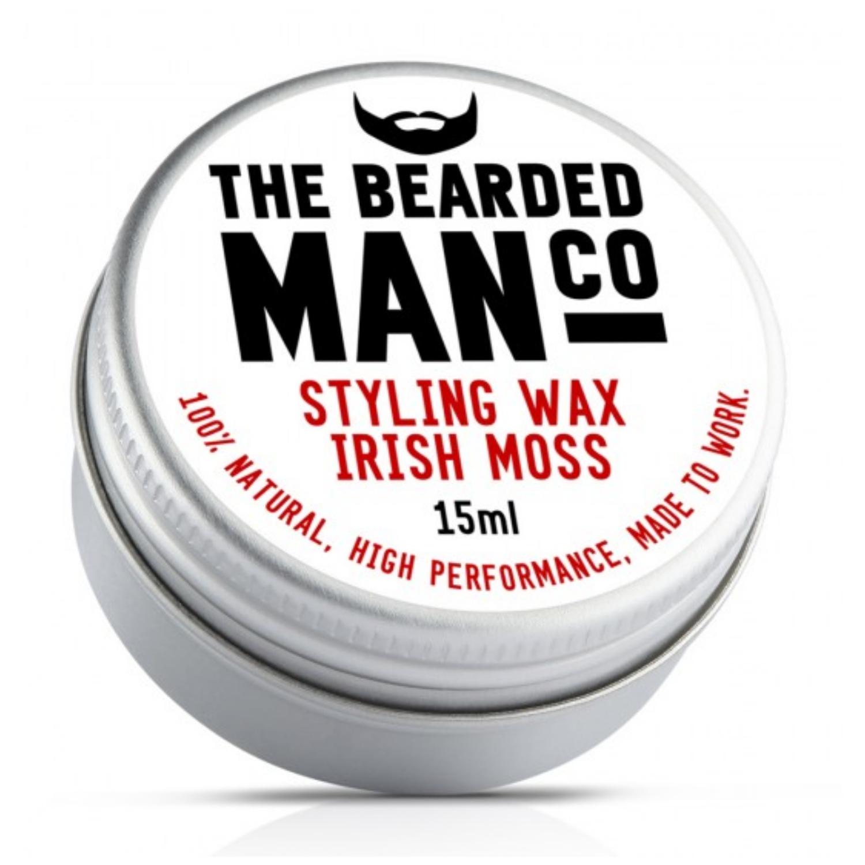 The Bearded Man Co. szakáll és bajuszwax - Irish Moss