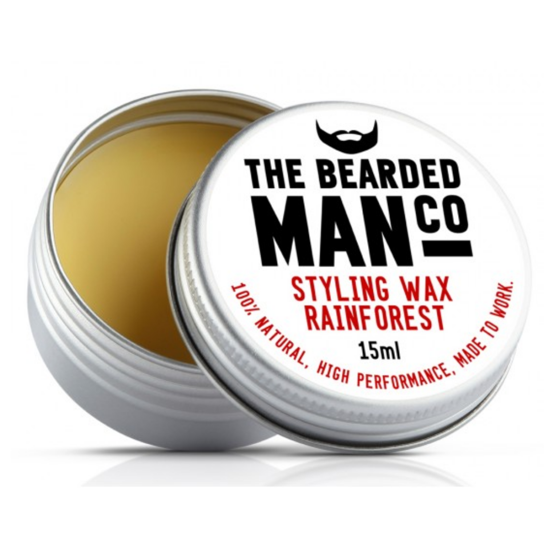 the bearded man bajuszway rain forest