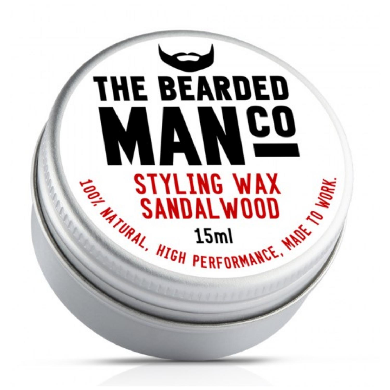 The Bearded Man Co. szakáll és bajuszwax - Sandalwood