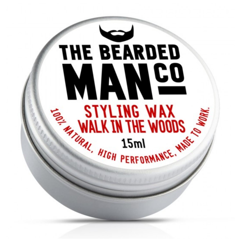 the bearded man company bajuszwax walk in the woods