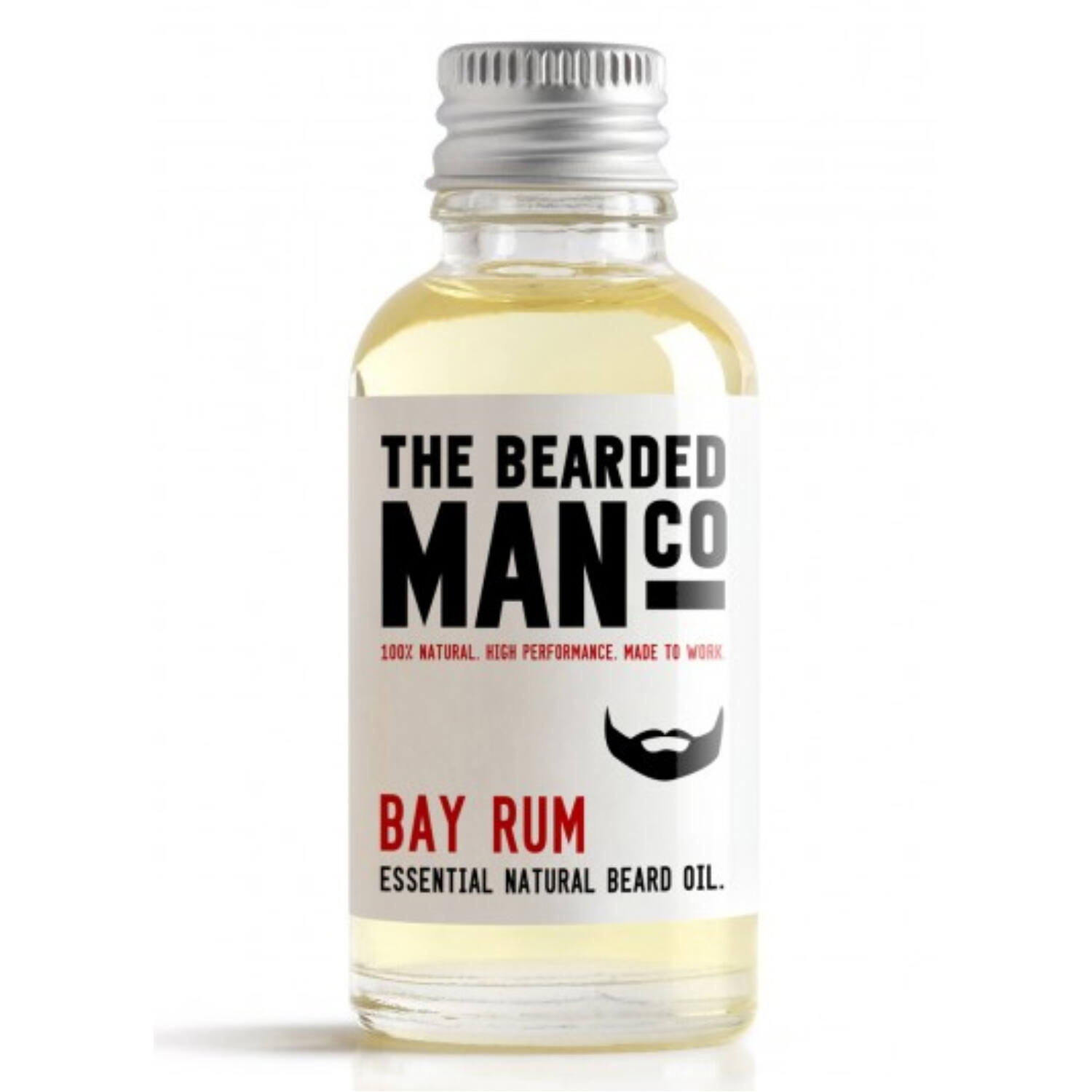the bearded man company bay rum szakállolaj 30ml