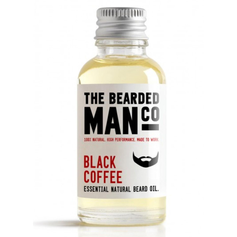 the bearded man company black coffee szakállolaj 30ml