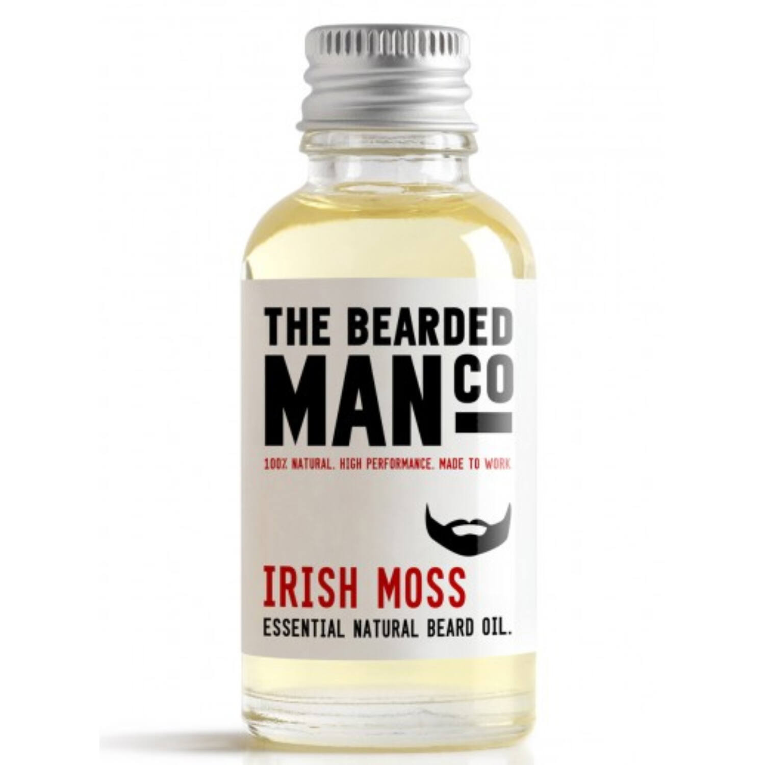 the bearded man company irish moss szakállolaj 30ml