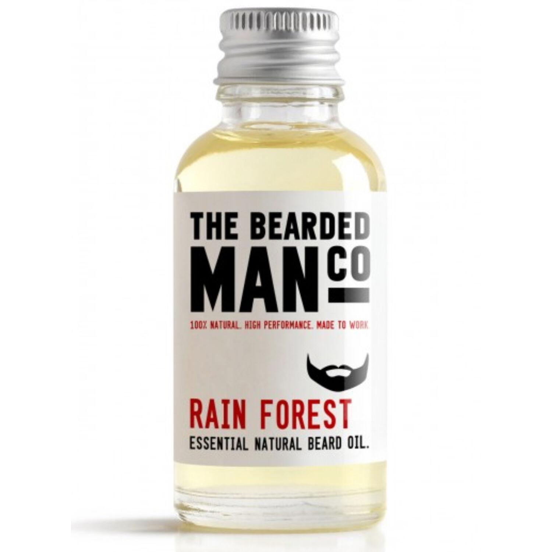 the bearded man company rain forest szakállolaj 30ml