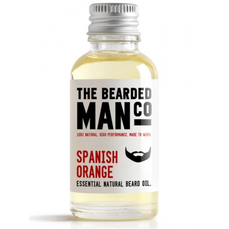 the bearded man company spanish orange szakállolaj 30ml