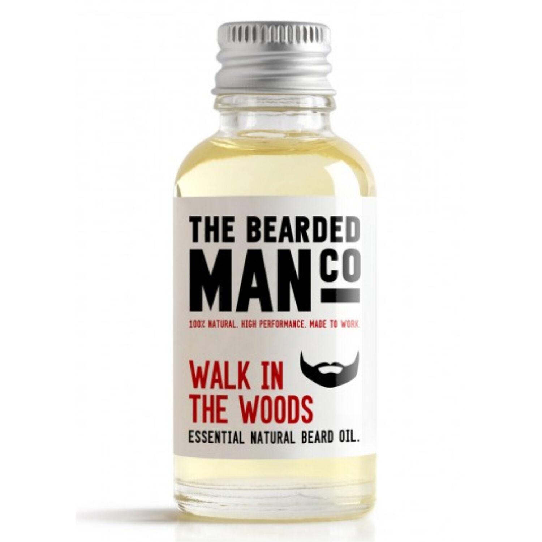 the bearded man company walk in the woods szakállolaj 30ml