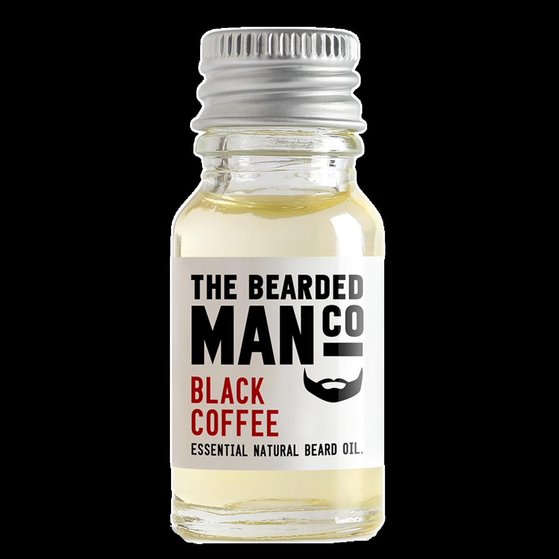 the bearded man company black coffee szakállolaj