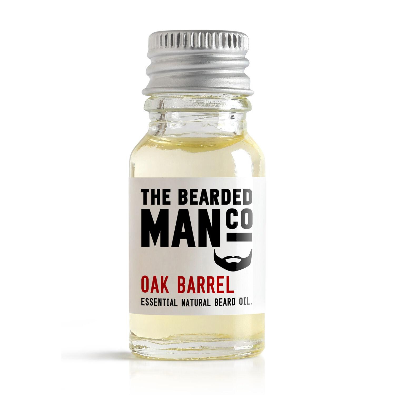 The Bearded Man Co. szakállolaj - Oak Barrel
