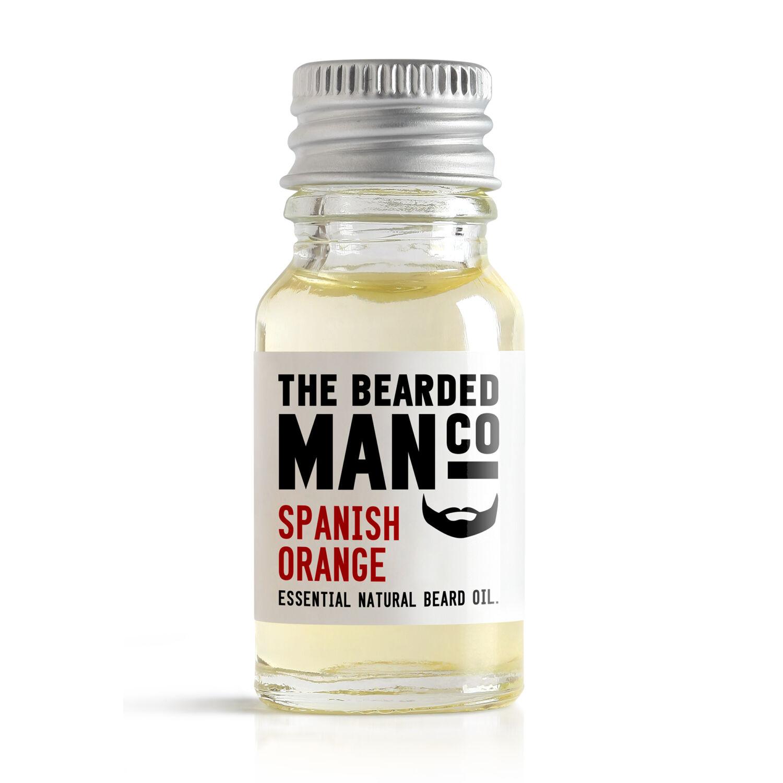 The Bearded Man Co. szakállolaj - Spanish Orange
