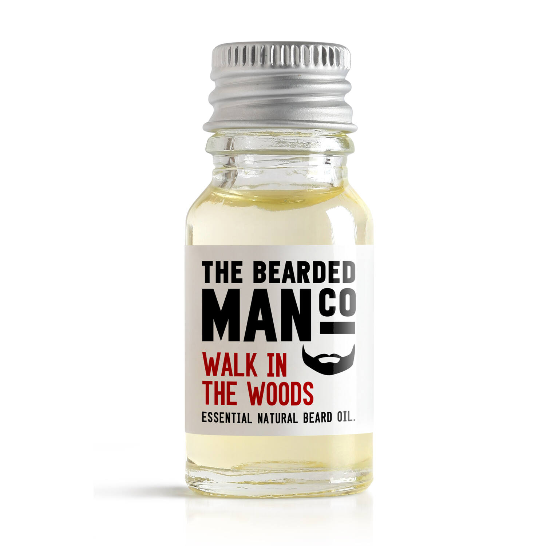 The Bearded Man Co. szakállolaj - Walk in the woods