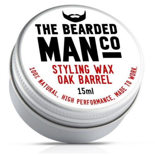 The Bearded Man Co. szakáll és bajuszwax - Oak Barrel