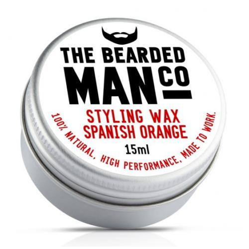 The Bearded Man Co. szakáll és bajuszwax - Spanish Orange